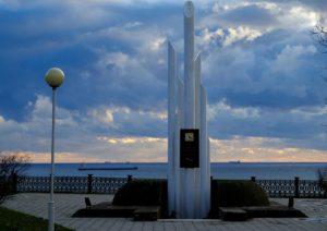 Памятник погибшим на пароходе «Адмирал Нахимов»