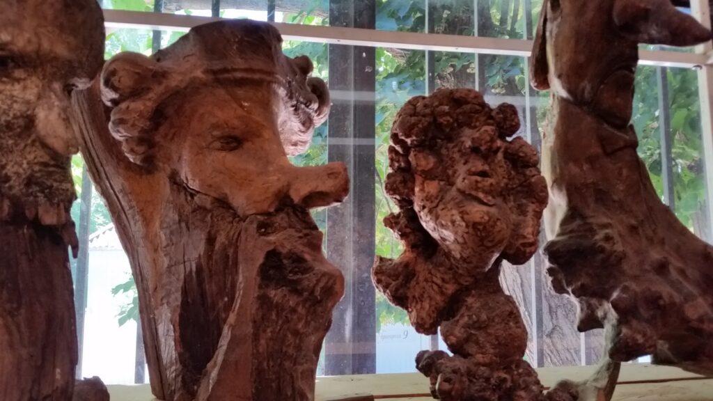 Джубга. Музей по дереву