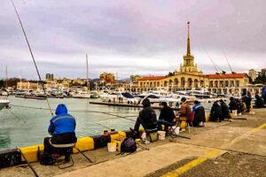 Рыбаки-в-Сочи